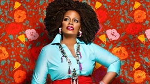 "Dianne Reeves (detail from cover photo of ""Beautiful Life"")"