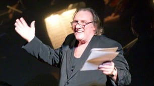 Gérard Depardieu narrates Berlioz's Lélio during a CSO concert in September 2010. | Todd Rosenberg Photography